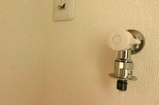 洗濯機の水栓の種類・取り付け方