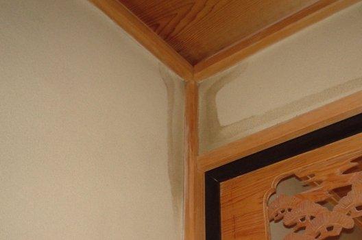 壁の中で水漏れするとどんな症状が出るの?