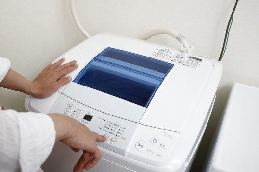 洗濯機にかかる負担を減らす