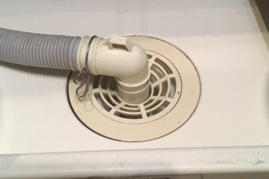 洗濯機の排水口詰まりの予防法