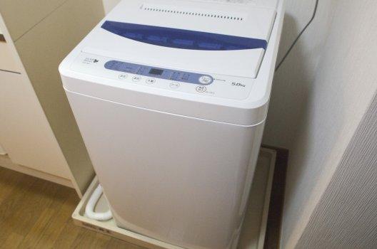 洗濯機の設置方法